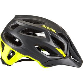 Alpina Garbanzo Casco, negro/amarillo